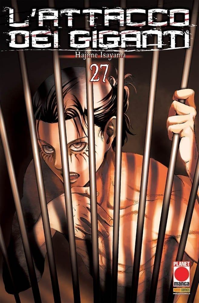L'ATTACCO DEI GIGANTI 27 GENERATION MANGA 27 - Panini Comics - Comics Corner