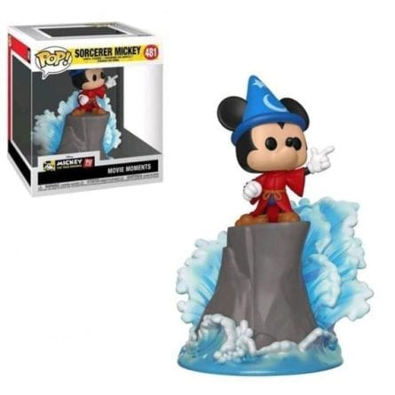 POP DISNEY VYNIL FIGURE 481 MOVIE MOMENTS - SORCERER MICKEY EXCL